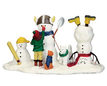 53231 - New Friends to Play with - Lemax Christmas Village Table Pieces