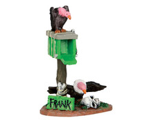 54916 - Frank's Mailbox - Lemax Spooky Town Accessories