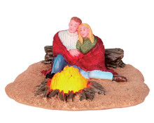 54929 - Romantic Campfire, Battery-Operated (4.5v) - Lemax Christmas Village Table Pieces