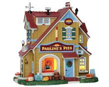 55936 - Pauline's Pie Shop - Lemax Harvest Crossing Christmas Houses & Buildings