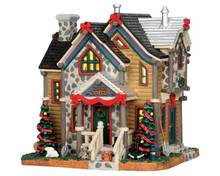 55938 - Carl's Cabin - Lemax Vail Village Christmas Houses & Buildings