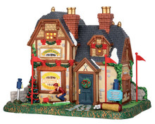 55954 - Tweed's Golf Outfitters - Lemax Caddington Village Christmas Houses & Buildings
