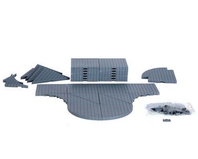 64099 - Plaza System (Grey, Variety) - 32 Pcs - Lemax Landscape