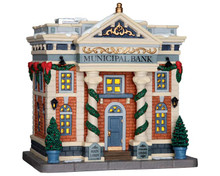 65082 - Municipal Bank - Lemax Caddington Village