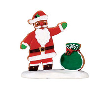 72482 - Gingerbread Santa - Lemax Sugar N Spice Figurines