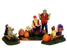 72485 - Storytime Scares, Set of 3 - Lemax Spooky Town Figurines