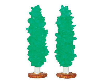 64113 - Rock Candy Tree, Set of 2 - Lemax Sugar N Spice Accessories