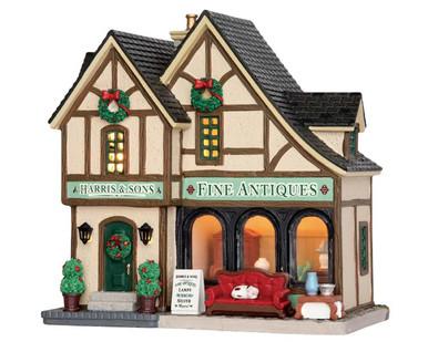 55006 - Harris & Sons Fine Antiques - Lemax Caddington Village