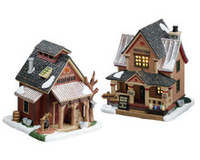 75207 - Sugartree Maple Farm, Set of 2 - Lemax Vail Village