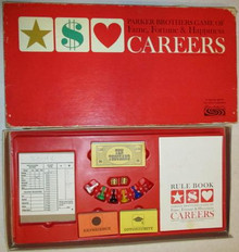 Vintage Board Games - Careers - Parker Brothers