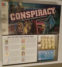 Vintage Board Games - Conspiracy - Milton Bradley