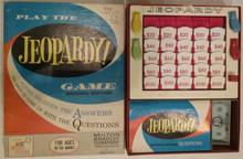 Vintage Board Games - Jeopardy - Milton Bradley