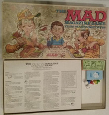Vintage Board Games - Mad Magazine Game - Parker Brothers