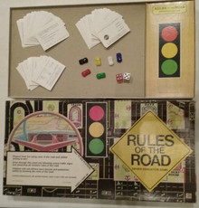 Vintage Board Games - Rules of the Road - Cadaco