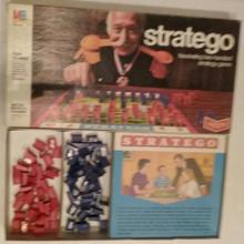 Vintage Board Games - Stratego - Milton Bradley