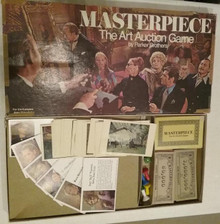 Vintage Board Games - Masterpiece: The Art Auction Game - Parker Brothers