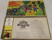 Vintage Board Games - Uncle Wiggly Game - 1967 - Parker Brothers