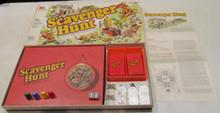 Vintage Board Games - Scavenger Hunt - 1983 - Milton Bradley
