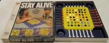 Vintage Board Games - Stay Alive - 1978 - Milton Bradley