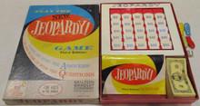 Vintage Board Games - New Jeopardy Game - Third Edition - 1964 - Milton Bradley