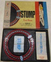 Vintage Board Games - Stump - Card Game - 1968