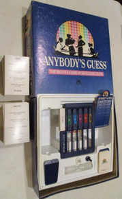 Vintage Board Games - Anybody's Guess - 1990