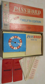 Vintage Board Games - Password - 12th Edition - 1970