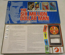 Vintage Board Games - Six Million Dollar Man - 1975