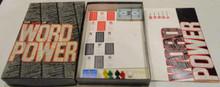 Vintage Board Games - Game of Word Power - 1967