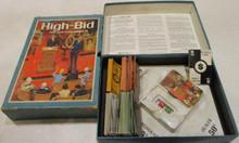 Vintage Board Games - High Bid - 1965