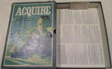 Vintage Board Games - Acquire - 1966