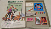 Vintage Board Games - Money Card: An American Express Travel Game - 1972