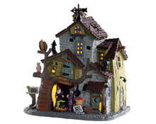 85308 - Witch and Warlock Residence - Lemax Spooky Town Houses