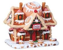 85383 - Cinna-Swirl Cabin, Battery-Operated (4.5v) - Lemax Sugar N Spice Houses