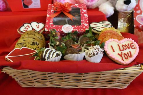 Gourmet Valentines Basket