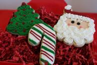 Three Christmas Cookies
