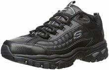 Skechers Energy After Burn Mens Sneakers Black