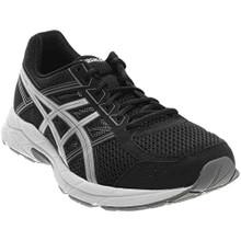 ASICS Men's Gel-Contend 4 Running Shoe, Black/Silver/Carbon