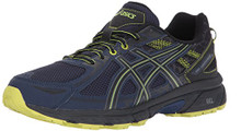 ASICS Men's Gel-Venture 6 Running Shoe, Indigo Blue/Black/Energy Green