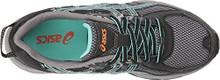 Asics Womens Gel-Venture 6 Running Shoe, Black/Ice Green/Orange