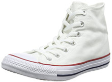 Converse Chuck Taylor All Star Canvas High Top Sneaker, Optical White