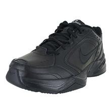 NIKE Men's Air Monarch IV (4E) Athletic Shoe, black/black