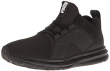 PUMA Men's Enzo Sneaker, Black
