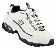 Skechers Energy After Burn Mens Sneakers White/Navy