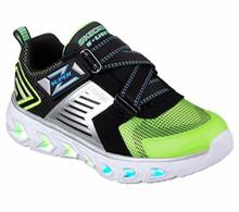 Skechers Kids Boys' Hypno-Flash 2.0-90587L Sneaker,Lime/Black