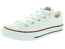 Converse Kid's Chuck Taylor All Star Low Top Shoe, optical white