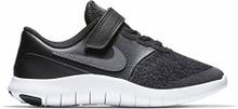 NIKE Kids Flex Contact (PSV) Shoes Black Dark Grey Anthracite White
