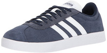adidas Men's Vl Court 2.0 Sneaker, Collegiate Navy/White/White