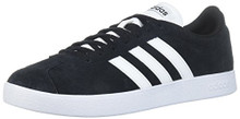 adidas Men's Vl Court 2.0 Sneaker, Black/White/White