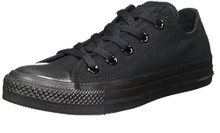 Converse Unisex Chuck Taylor All Star Low Top Black Monochrome Sneakers